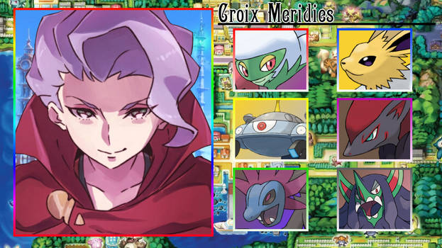 Croix Meridies Pokemon Team