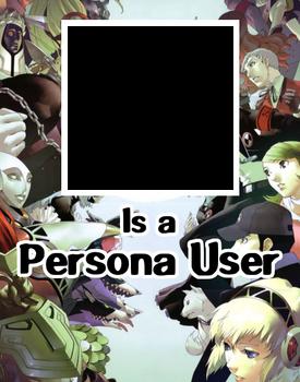 Persona User template
