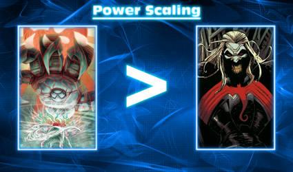 U.P-Verse Yami power level