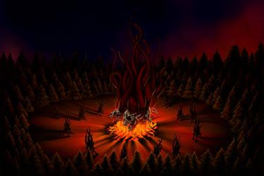 Shub-Niggurath in the forest