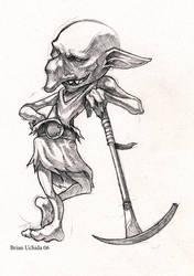 Goblin miner by UchidaB