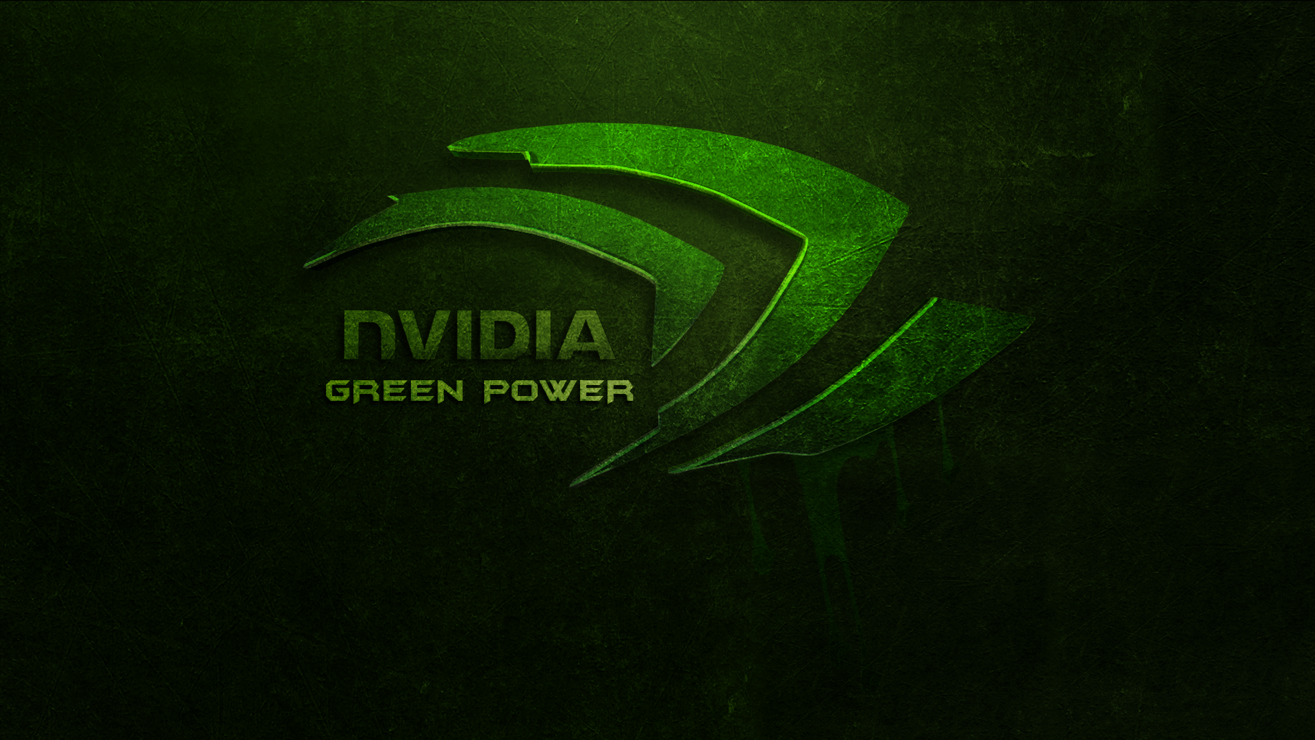 Nvidia green power wallpaper by atemate on deviantart - 1920x1080 wallpaper nvidia ...