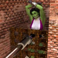 she hulk by Syncro01