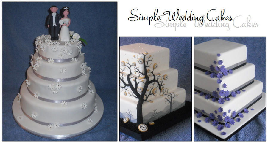 how to make a simple wedding cake simple wedding cakes by m cakes on deviantart 15844