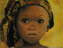African girl by Kristelok