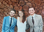 Me and my brothers on my wedding day by Kristelok