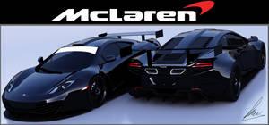Mclaren MP-4 12C GT3 by jesterv2