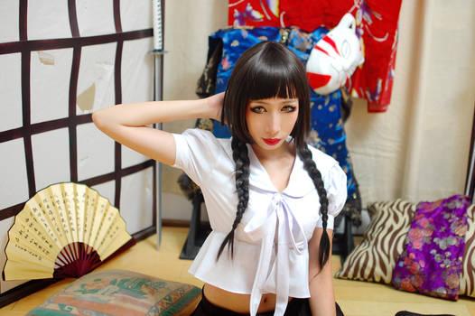 Zone-00: Majoko Okino Cosplay