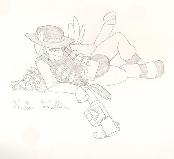 Flutter Guy by GuyVulpin