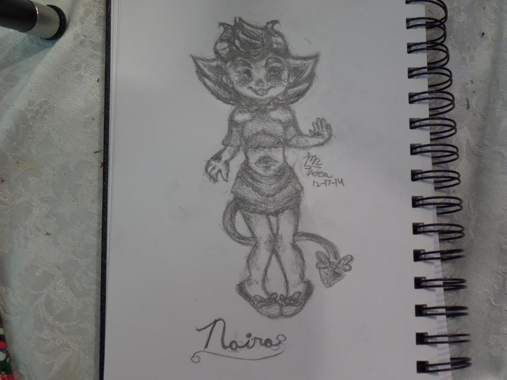 Naira Chibi Sketch by VocaloidWolf