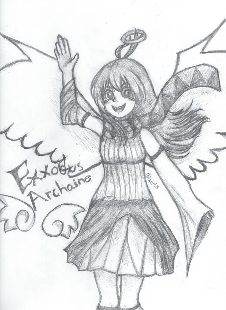 Exxodus Fan Art for MajicTablitSkittles by VocaloidWolf