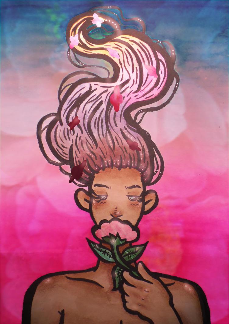 Flower Chick by VocaloidWolf