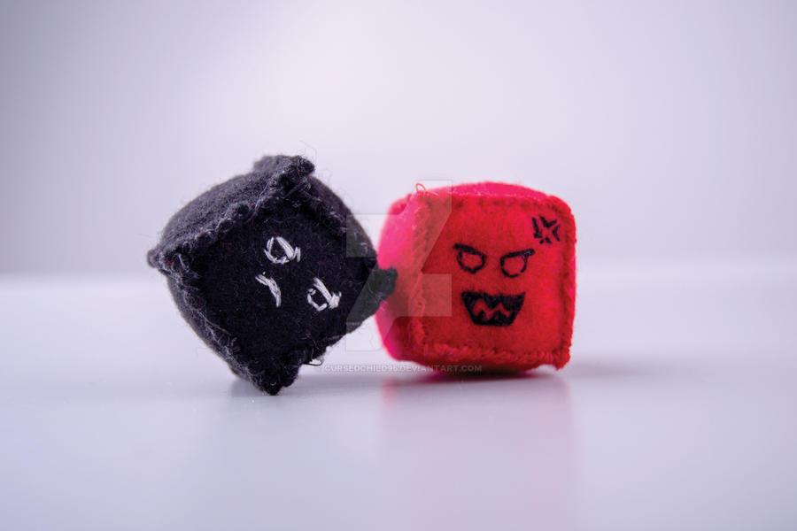Plush Cubes by CursedChild95