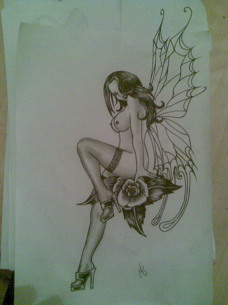 Naked fairy tattoos sexy pics