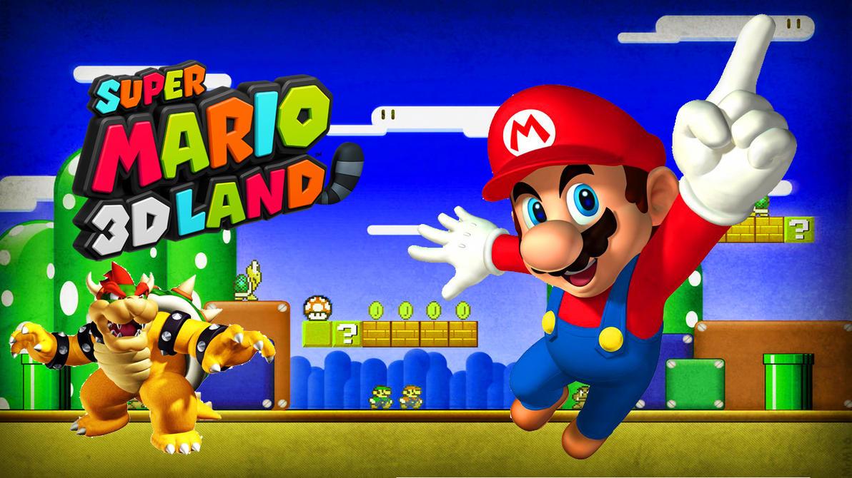 Mario 3D Wallpaper