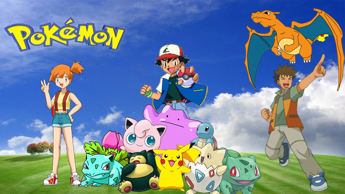 Pokemon Desktop wallpaper by Haloking931 on DeviantArt