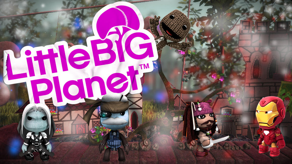 little big planet wallpaper by haloking931 on deviantart