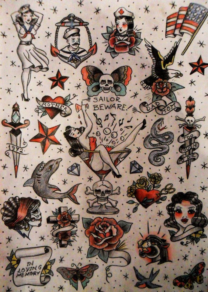 Traditional american tattoo design pdf