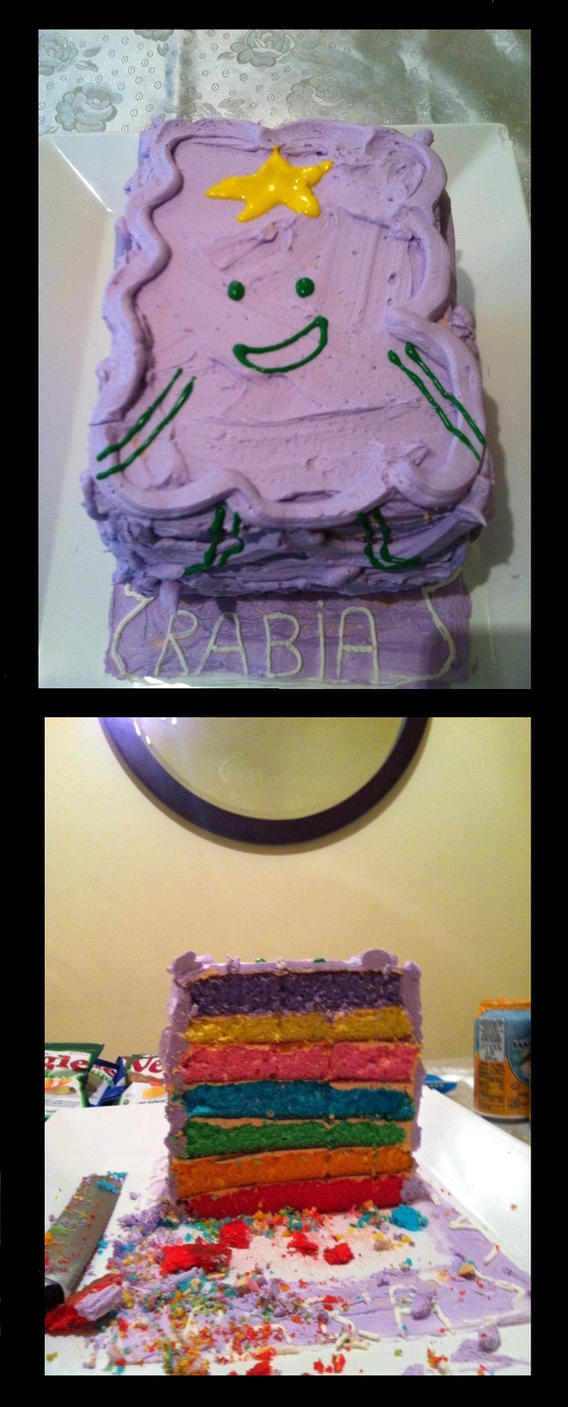 My Cake Art Elizabethton Tn : Lumpy Space Princess Cake! by AliaraGen on deviantART