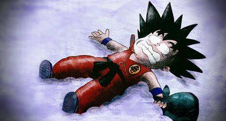 Frozen kid goku remake