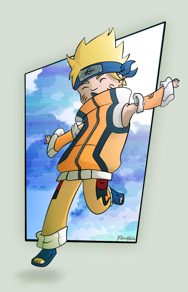 Chibi Naruto by tythecooldude06