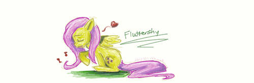 Fluttershy Doddle