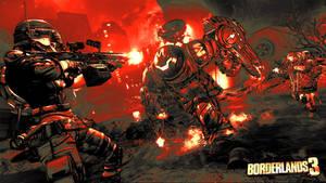 Borderlands 3  Red Wallpaper 4K HD