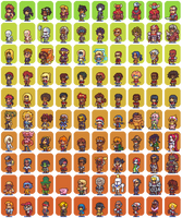 100 Hero oh Hero character sprites by Neoriceisgood