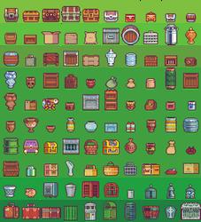 100 container sprites