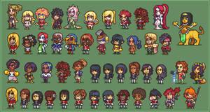 Hero Oh Hero Ladies compilation by Neoriceisgood