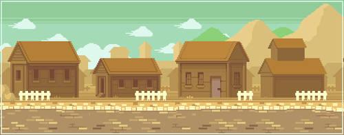 House pixelart