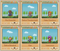 Pixelcards: Order of the Stick by Neoriceisgood