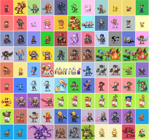 Super Smash Brothers Ultimate by Neoriceisgood