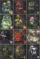 fakemon images by Neoriceisgood