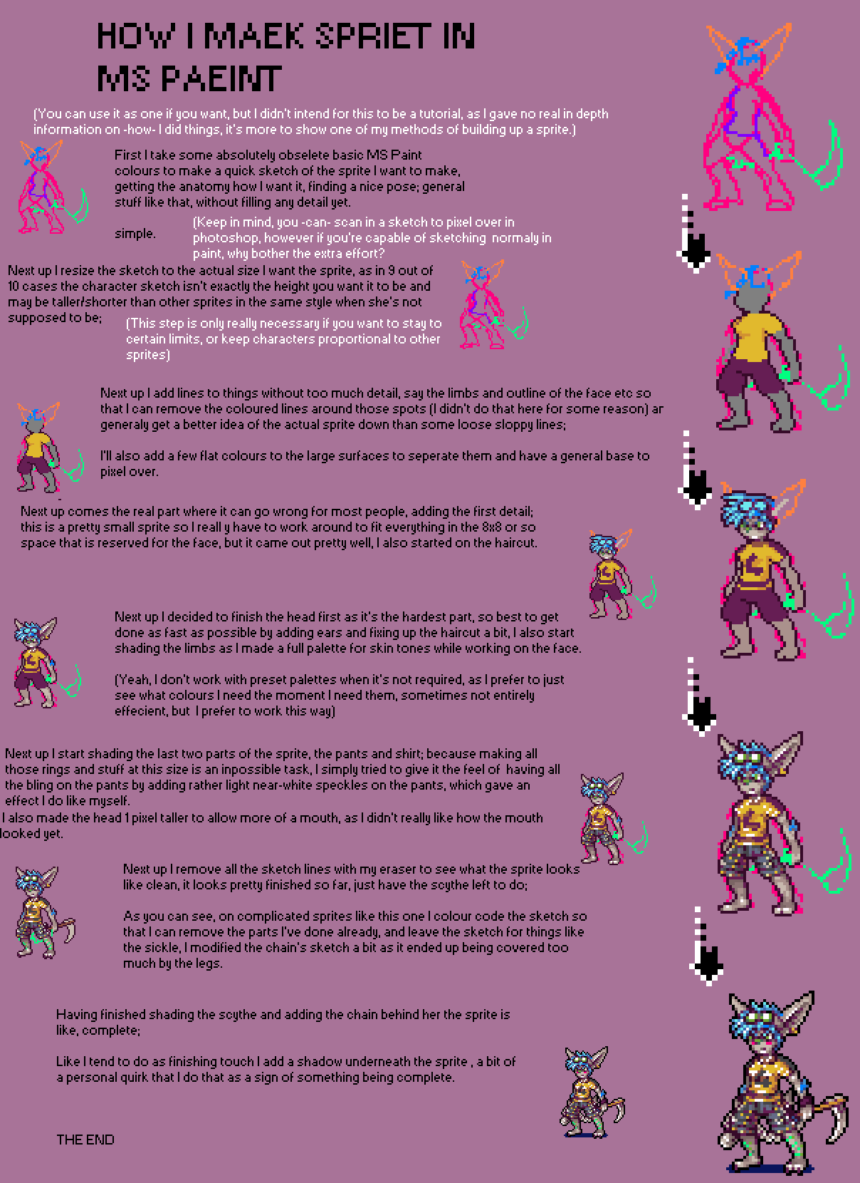 How to make sprite by neoriceisgood on deviantart for How to make a good painting