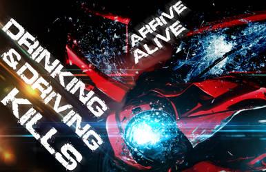 Arrive Alive Poster by alexrotondo