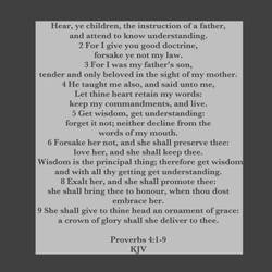Proverbs 4:1-9 Kjv by CreativeChristianity