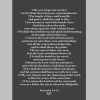 Proverbs 3:1-12 KJV