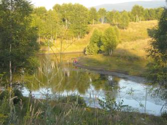 Lake Vlasina - Serbia by SuperStormtrooper501