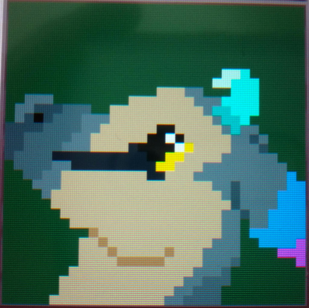 Trico Pixel Art Acnl By Nightstormshadow On Deviantart
