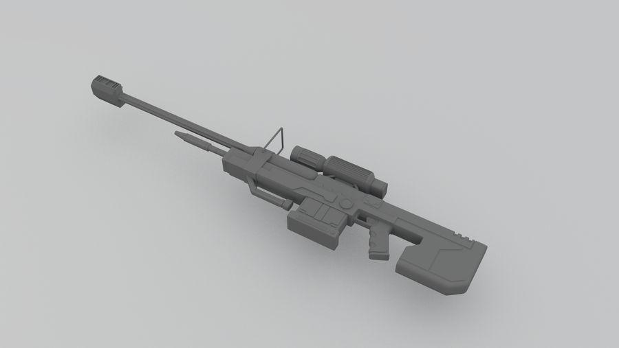 Halo Sniper 3D Model by IonitaDragos on DeviantArt