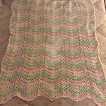 Cand Stripes Baby Blanket Complete! by MichelleJaggi