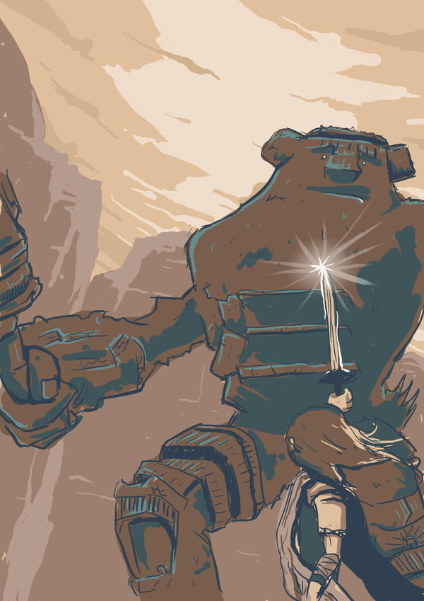 day 5: shadow of the colossus - Valus by lookhappy on ...