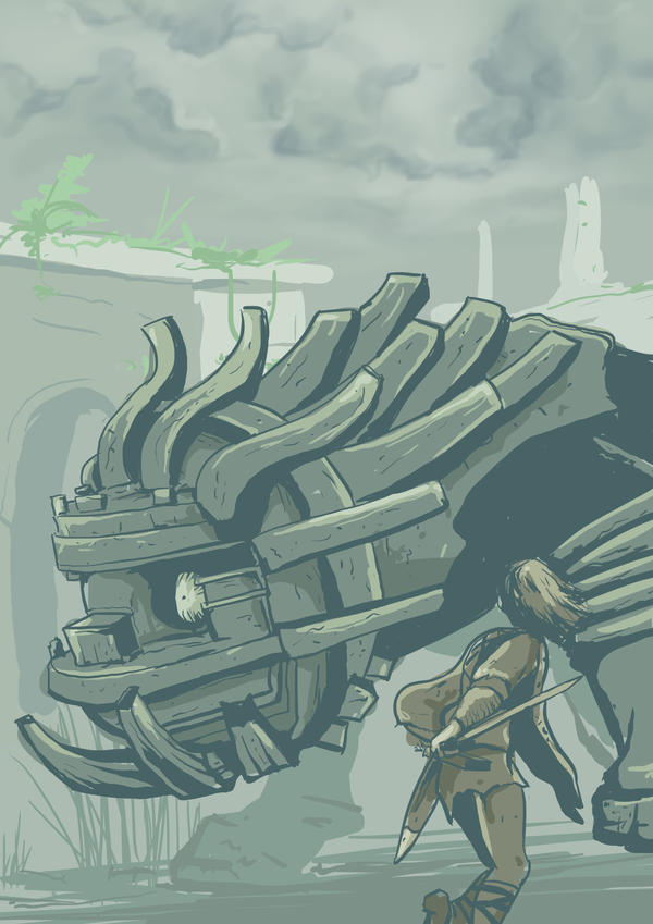 Day 18: Shadow of the Colossus - Cenobia by lookhappy on ...