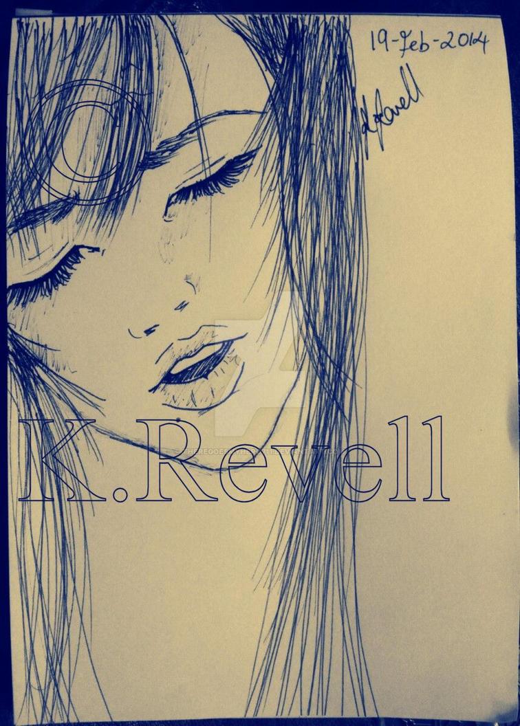 Scribbles-Self-Sing by ThereGoesMyHero711