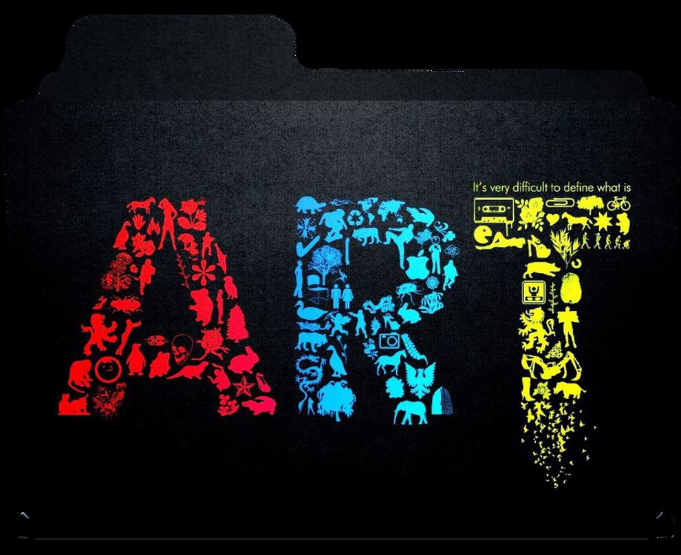 Art Folder icon by Art...