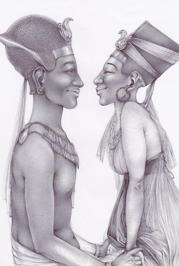 True Egyptian Love by NeferNeferu-Aten