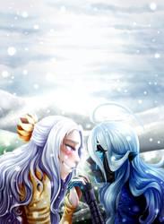 On a beautiful winter day by LordMroku