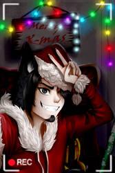 Christmas selfie by LordMroku