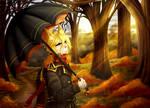 Golden autumn by LordMroku